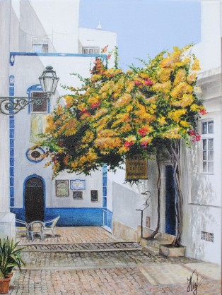 'Albufeira' © Kateryna Ilchuk, 30x40cm, acrylic on canvas