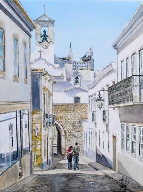 'Intimate future. Faro' © Kateryna Ilchuk, 30x40, acrylic on canvas